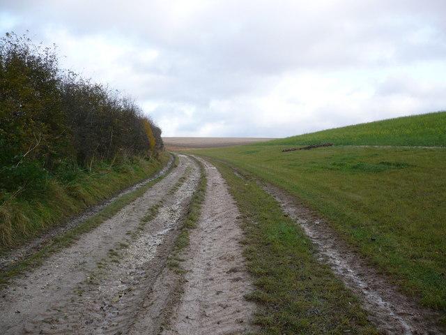 Track on North Wood Farm