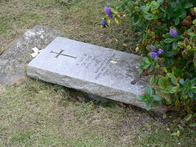 Unknown sailor's grave on Iona