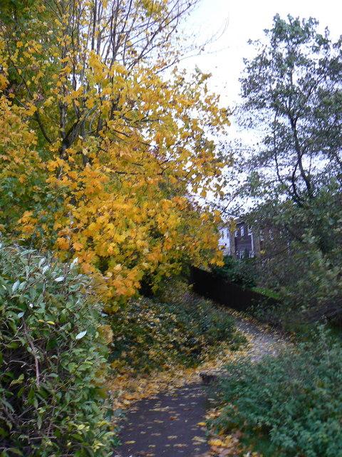 Cwmbran footpath