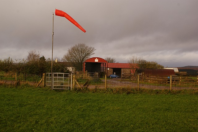 Windsock and Saint White's Farm, Ruspidge, Forest of Dean