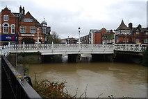 TQ5946 : The Big Bridge, Tonbridge. by N Chadwick