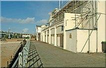 SZ9398 : West side of pier entrance building Bognor Regis by P L Chadwick