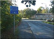 SE0125 : 'Longest gradient in England' sign, Cragg Road B6138, Mytholmroyd by Humphrey Bolton