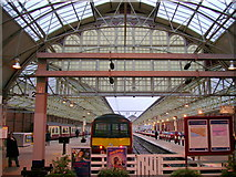 NS2982 : Helensburgh Central station by Mark Nightingale