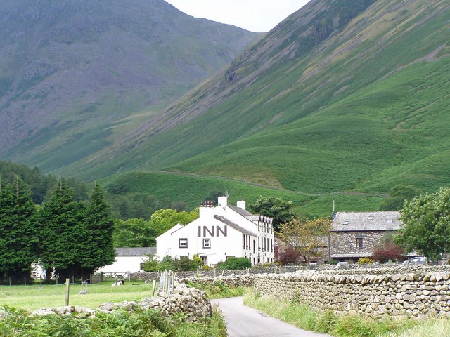 Wasdale Inn From The Lane