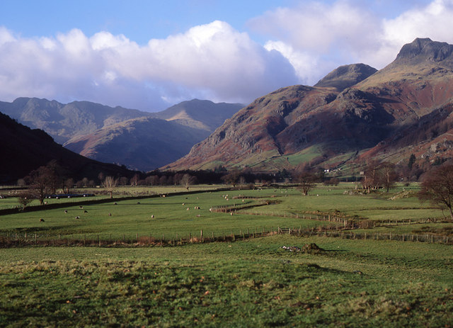 Great Langdale from near Pye How