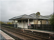 SE0125 : Old station building at Mytholmroyd Station by Alexander P Kapp