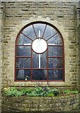 SE0125 : Good Shepherd Catholic Church and Centre, Mytholmroyd, Stained glass window by Alexander P Kapp