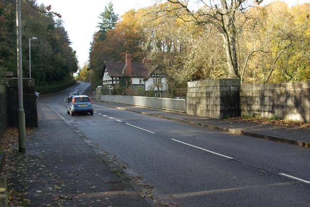 A483 Irfon Bridge