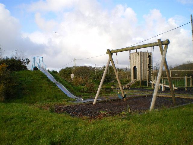 Children's playground in Mynachlog-ddu