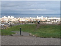 NT2674 : Leith from Calton Hill by Richard Webb