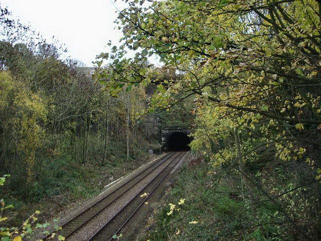 Entrance to Hipperholme Tunnel