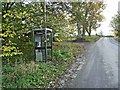 NZ0990 : Telephone box at Netherwitton by Oliver Dixon