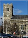 TQ7369 : St Nicholas Church  Clock Tower, Strood by David Anstiss