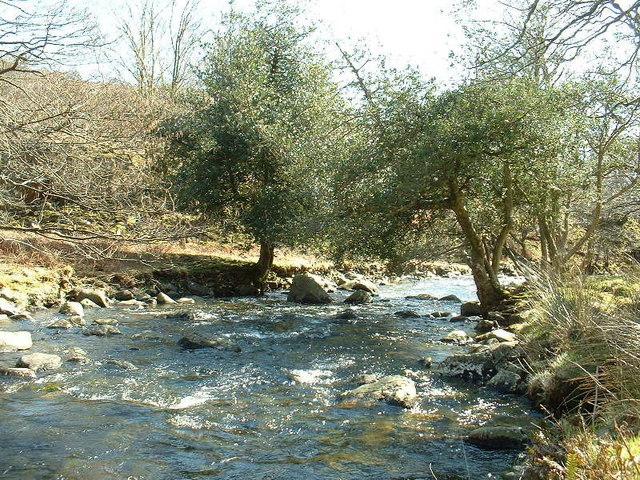 Afon Artro near Crafnant