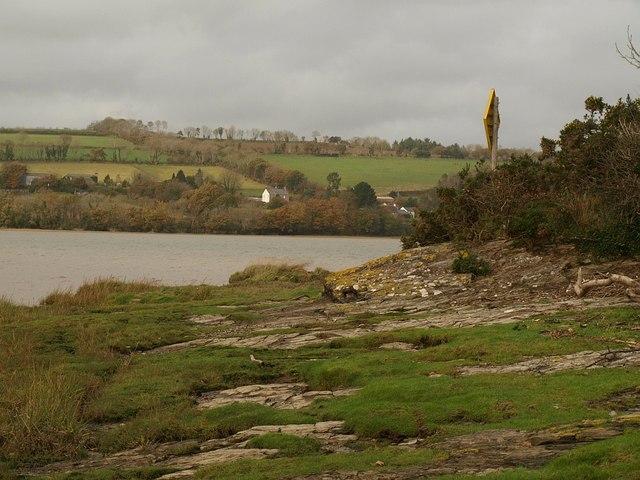Headland near Blaxton Quay