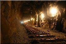 SH5946 : WHR Railway Tunnel by Simon Melhuish