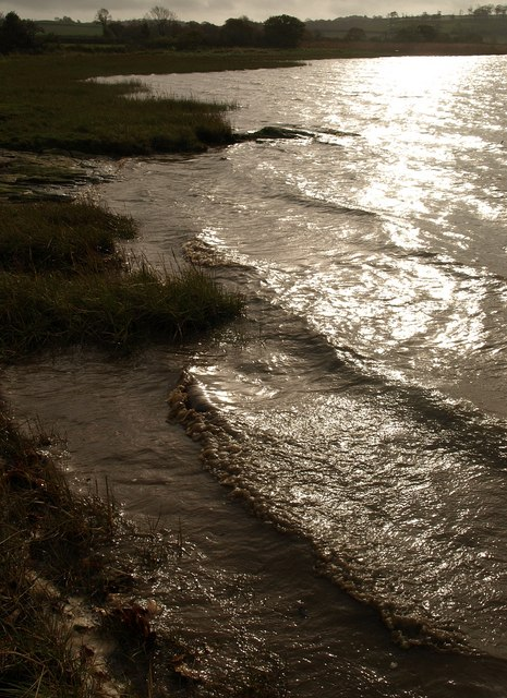 Waves, Tavy estuary