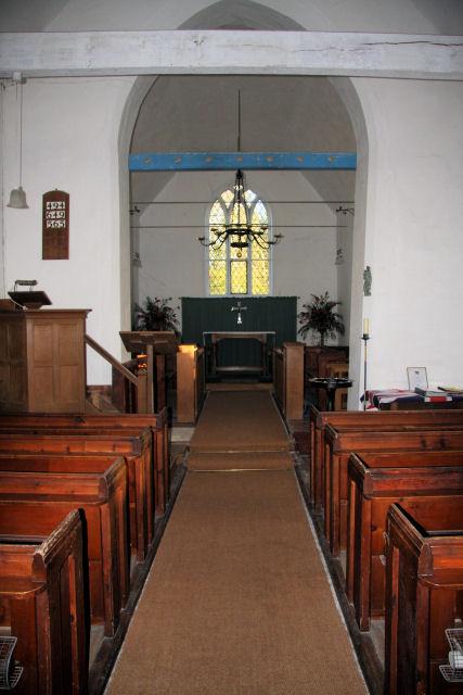 Abberton Church interior