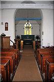 TL9919 : Abberton Church interior by Bob Jones