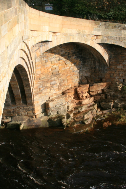 Side Arches of County Bridge