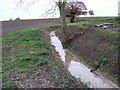TM3468 : Newly dug drainage ditch by Geographer