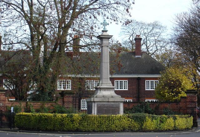 War Memorial, Church Street, Lenton