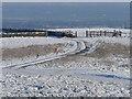 SJ9368 : A late snowfall on Croker Hill nr Macclesfield by Colin Park