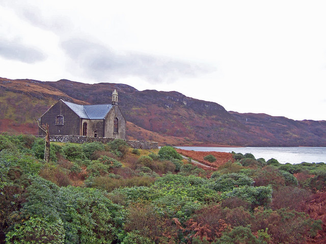 Church House and Loch Uisg