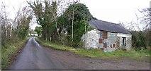 H5657 : Rarogan Road and old school by Kenneth  Allen