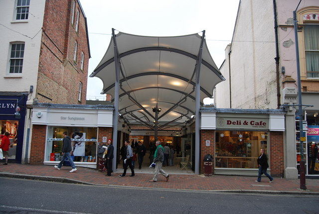 Ely Court, The Royal Victoria Centre, Tunbridge Wells by N Chadwick