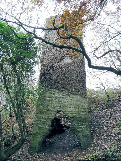 Air shaft at former mine south of Waunarlwydd