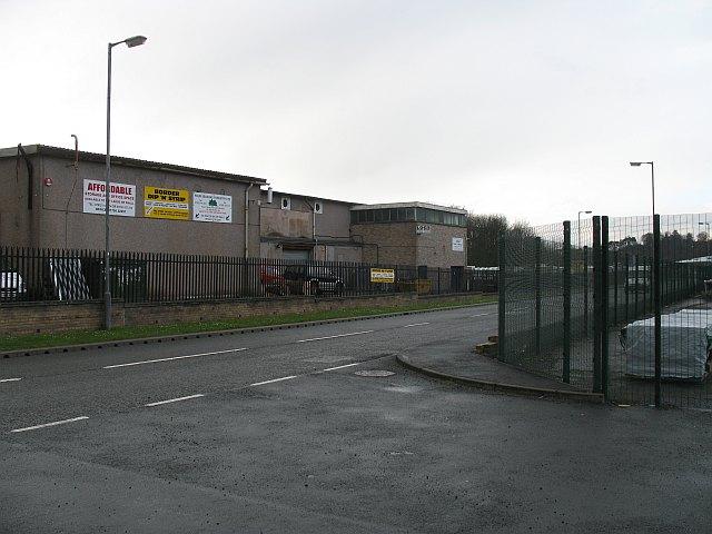 Industrial estate, Selkirk