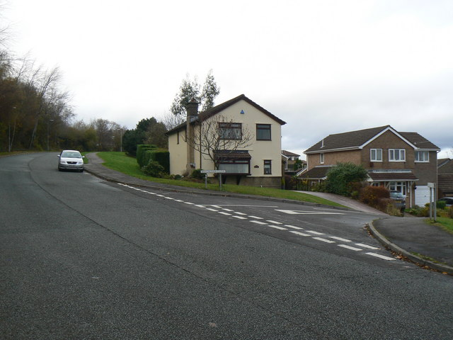 Residential area of Cwmbran