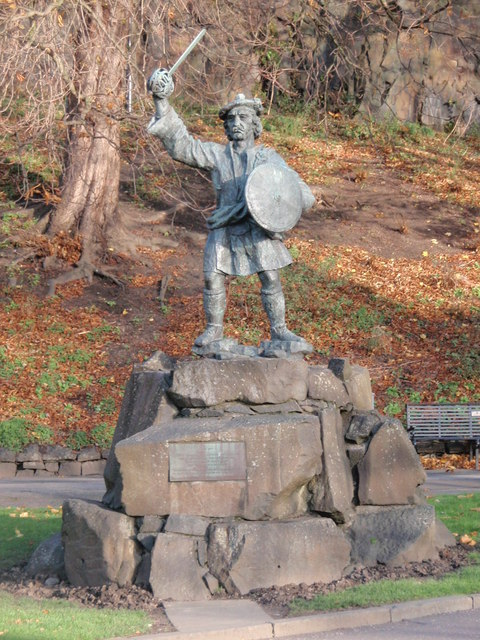 Rob Roy's statue