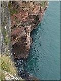 SX9456 : Cliff below The Old Redoubt by Derek Harper
