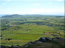 SH2734 : Field scape below Carn Fadryn by Colin Park