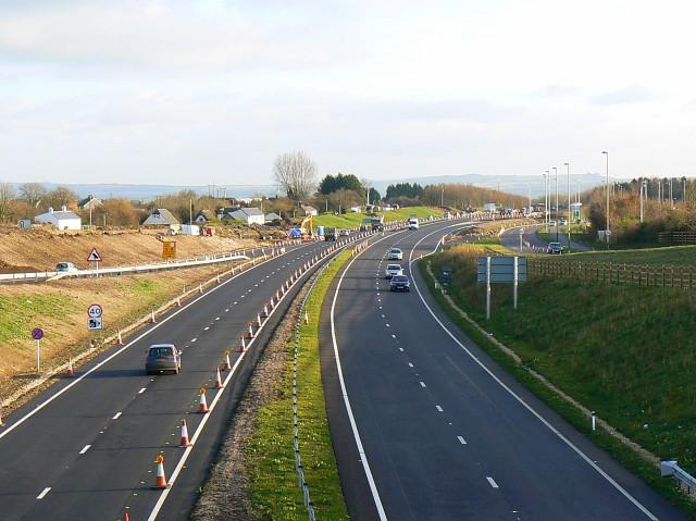 Blunsdon by-pass, 18.11.2008