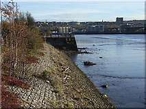 NZ2362 : River Tyne and the Dunston Coal Staithes by Oliver Dixon