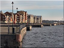 ST1167 : Waterfront development at Barry Docks by Mick Lobb
