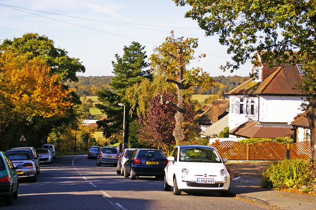 Hadley Road, Enfield by Christine Matthews