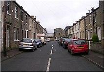 SE0724 : Cedar Street - Hopwood Lane by Betty Longbottom