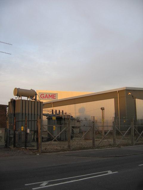 Sub-station & GAME - Brunel Road