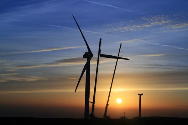 Turbine No 21 at Sunset