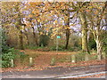 SO9194 : Coppice Entrance by Gordon Griffiths