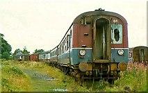 J1586 : Withdrawn rolling stock, Antrim station by Albert Bridge