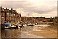 TG0244 : Blakeney Quay by Ian Capper