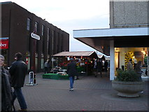 SK4933 : Entrance to Long Eaton Market by Andy Jamieson