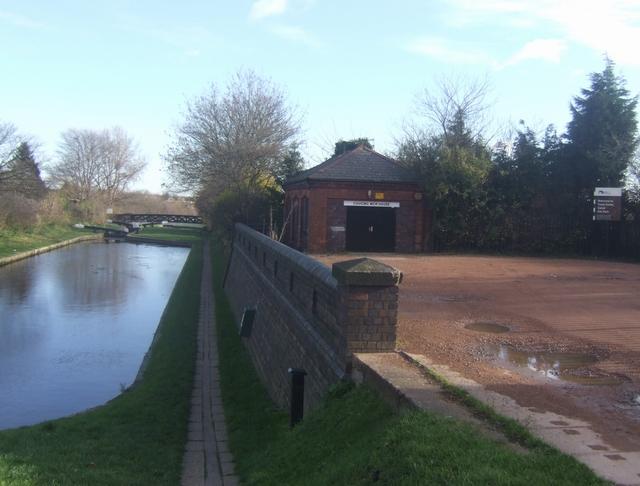 Perry Barr Locks - Gauging Weir House