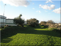 TQ0202 : Footpath between Littlehampton Marina and the River Arun by Basher Eyre